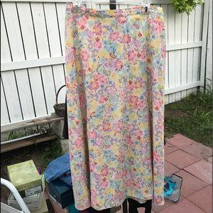 Long skirt 16P